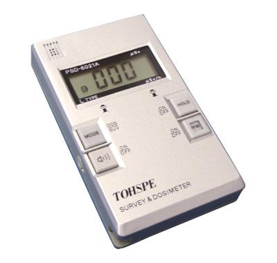 放射線ポータブルモニター PSD-6021A(L)|東京スペクトロン