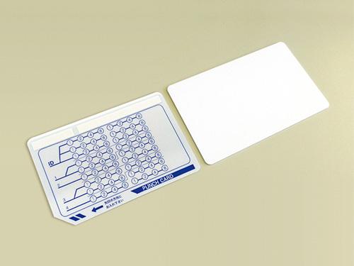 IC・パンチカードリーダーで使用するパンチカード