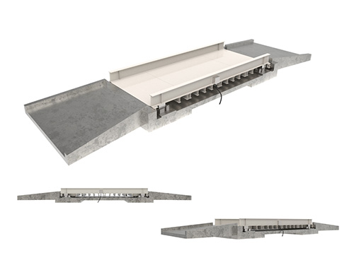 レンタル製品:地上型(ピットレスタイプ)トラックスケール