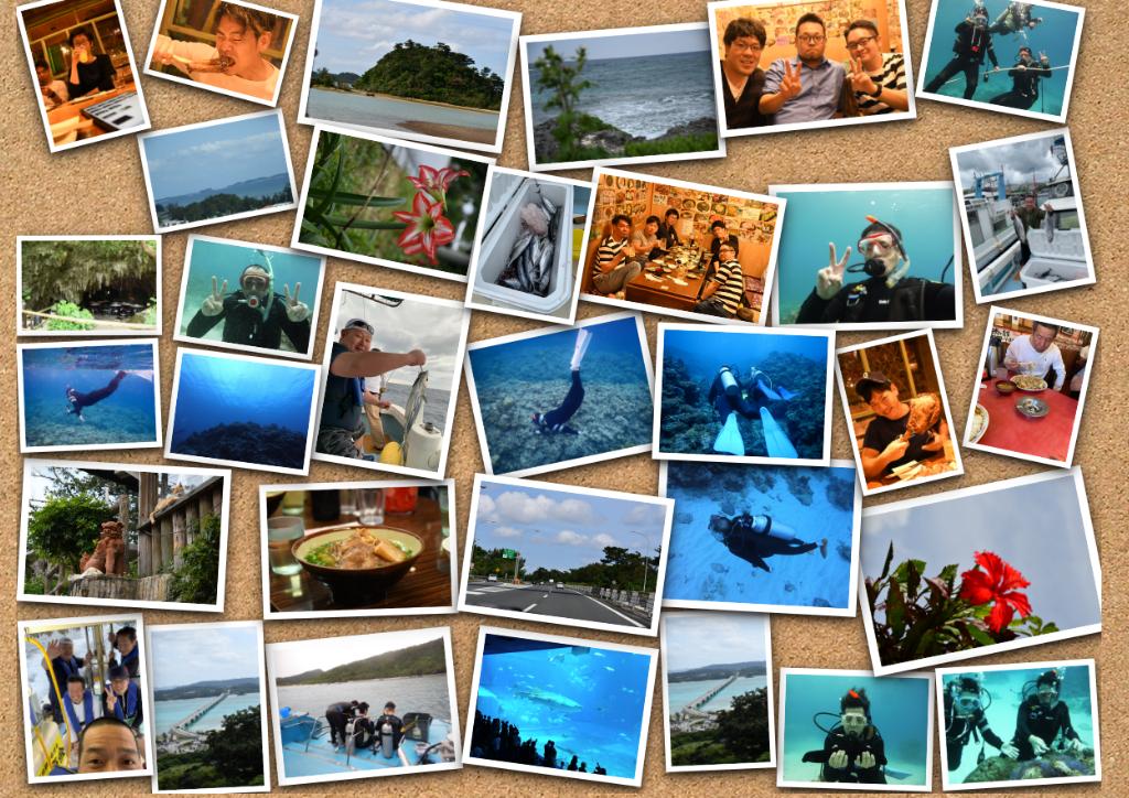 釣りにダイビングに、大宴会!社員旅行@沖縄を大満喫してきました!